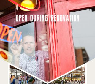 Open During Renovation