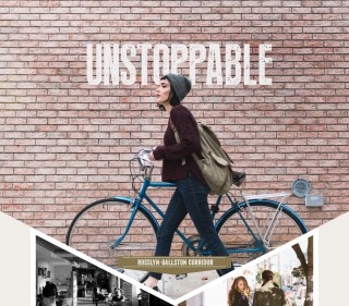 Unstoppable: Woman riding bike, Interior of bar, Couple holding hands